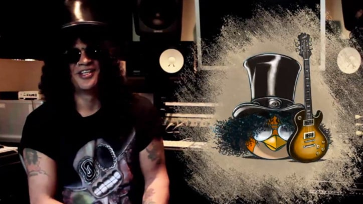 Slash Records Theme for 'Angry Birds Space'