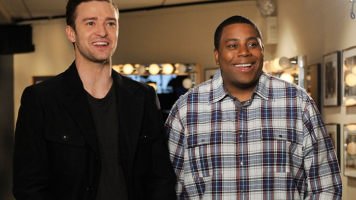 Justin Timberlake Hits Back at Kanye on 'SNL'
