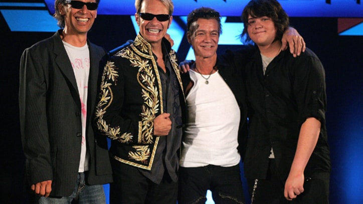 Van Halen Set for '50, 60 Shows' in Europe