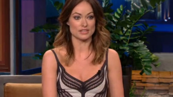 Olivia Wilde Reads Justin Bieber Fans' Hate Tweets on 'Leno'