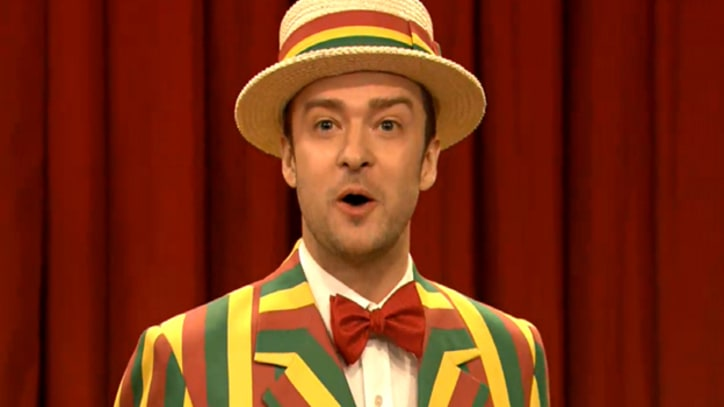 Justin Timberlake Goofs on 'SexyBack' on 'Fallon'