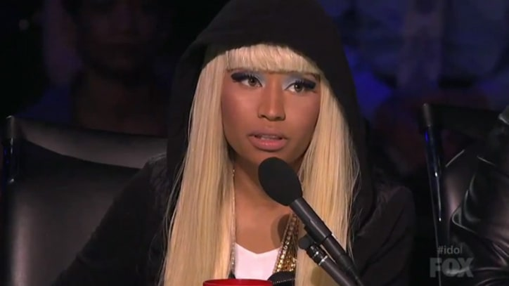 'American Idol' Recap: Nicki Minaj Arrives Late For Top 10
