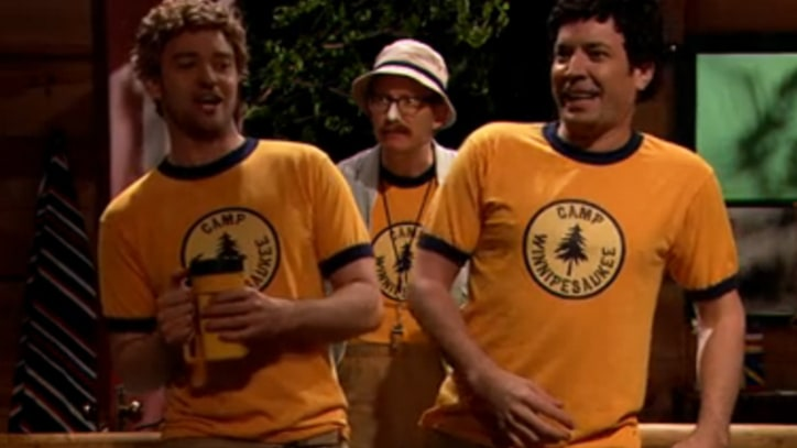 Justin Timberlake and Jimmy Fallon Go to Summer Camp
