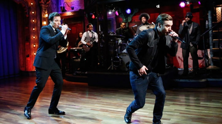 Justin Timberlake and Jimmy Fallon Perform 'History of Rap 4'