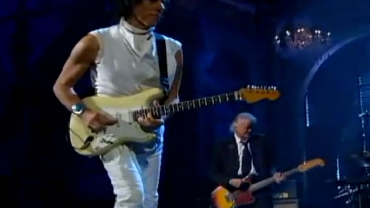 Flashback: Jimmy Page and Jeff Beck Play 'Immigrant Song'