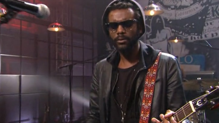Gary Clark Jr. Goes 'Numb' on 'Leno'