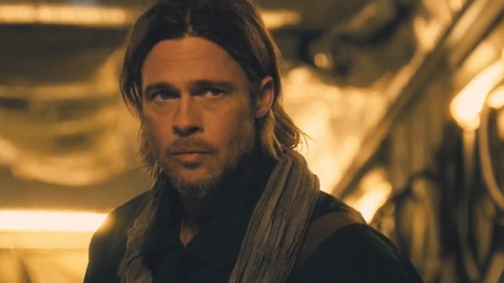 Brad Pitt Defends Mankind From Zombies in 'World War Z' Trailer
