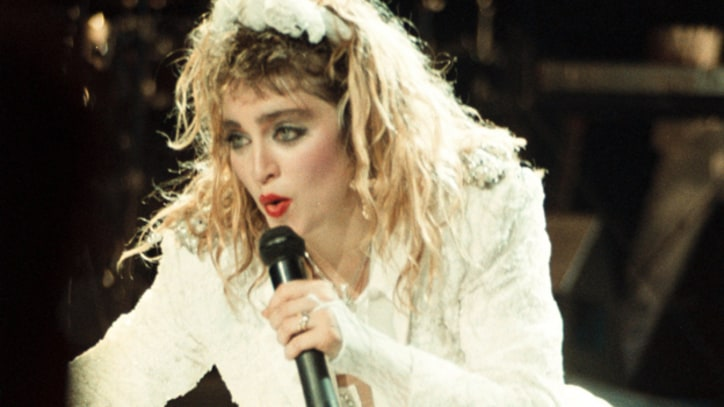 Flashback: Madonna Mashes Up 'Like a Virgin' With 'Billie Jean'
