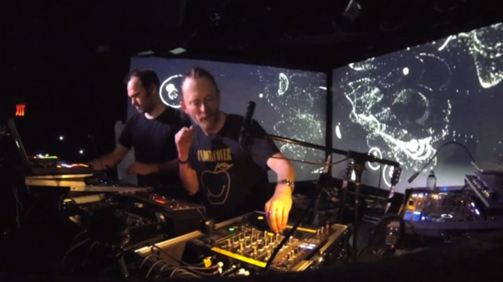 Atoms for Peace Spin 'Default' During New York DJ Set