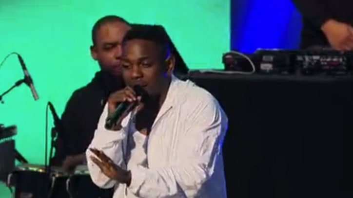 Kendrick Lamar Offers 'Poetic Justice' on 'Kimmel'