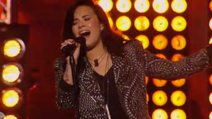 Demi Lovato Compares Love to 'Heart Attack' on 'Kimmel'