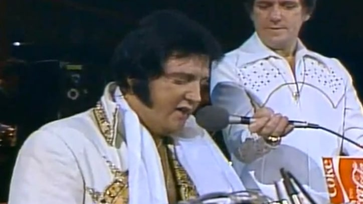 Flashback: Elvis Presley Sings 'Unchained Melody' Two Months Before His Death