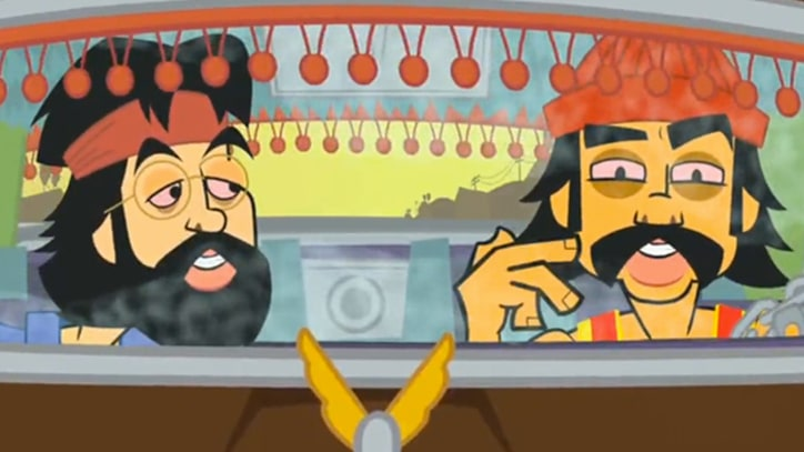 Q&A: Cheech and Chong on Animating Their Stoner Adventures and Predicting Reality Television