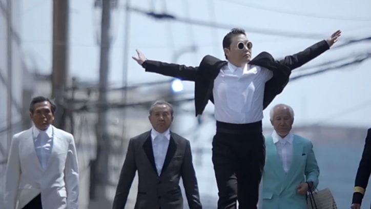 Psy Debuts New 'Gentleman' Video at Stadium Concert