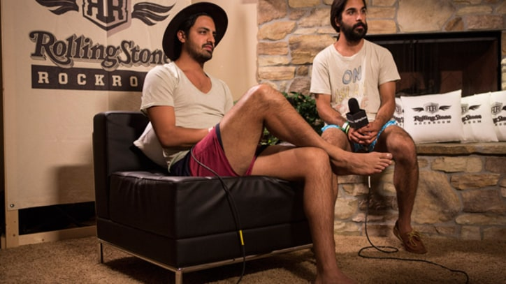 Young the Giant Enjoy Coachella as Spectators
