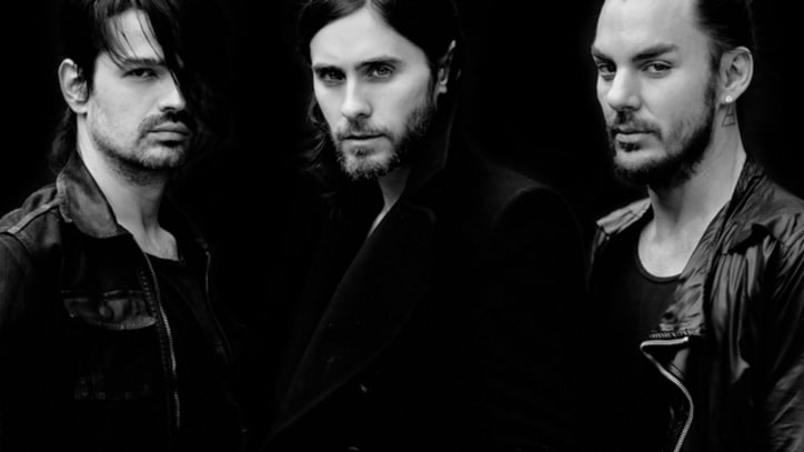 Thirty Seconds to Mars and Dita Von Teese Tease 'Up in the Air'