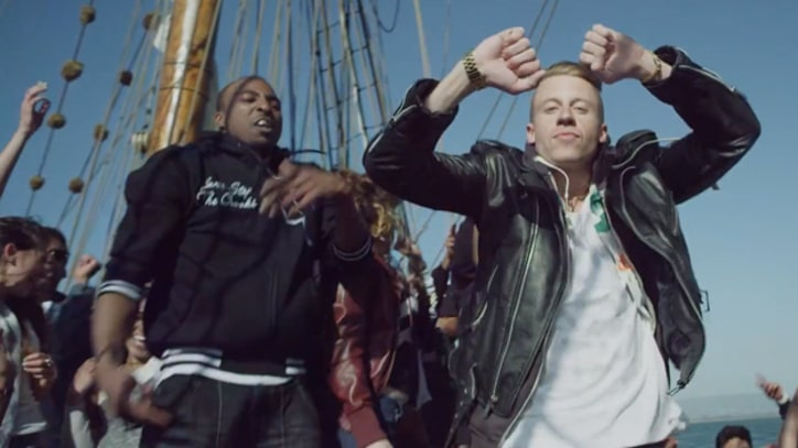 Macklemore and Ryan Lewis Return from the Wild in 'Can't Hold Us'
