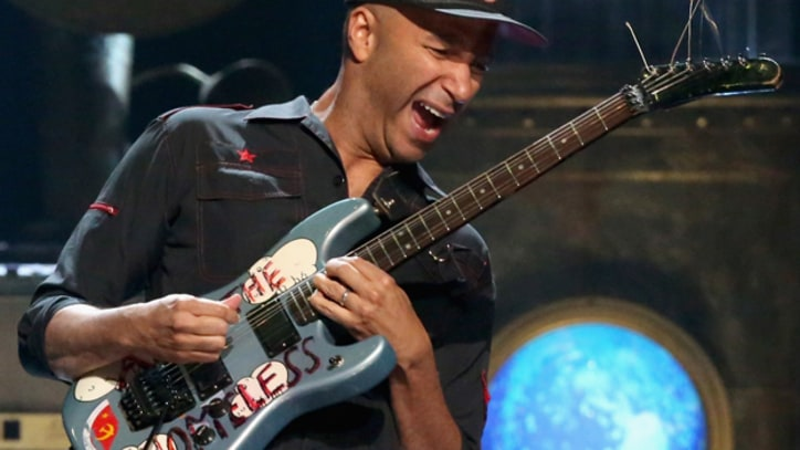 Tom Morello Praises Public Enemy, Rush at Rock and Roll Hall of Fame Induction
