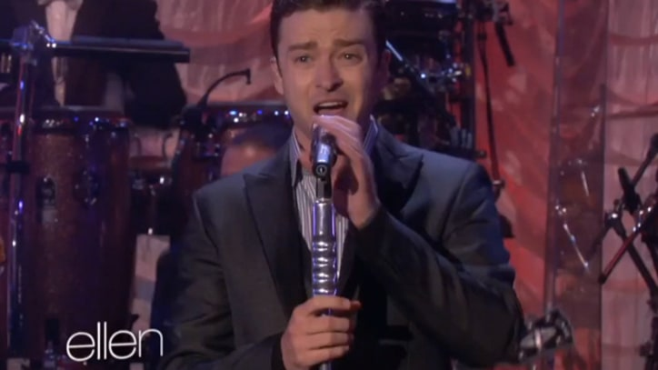 Justin Timberlake Swings Through 'Mirrors' on 'Ellen'