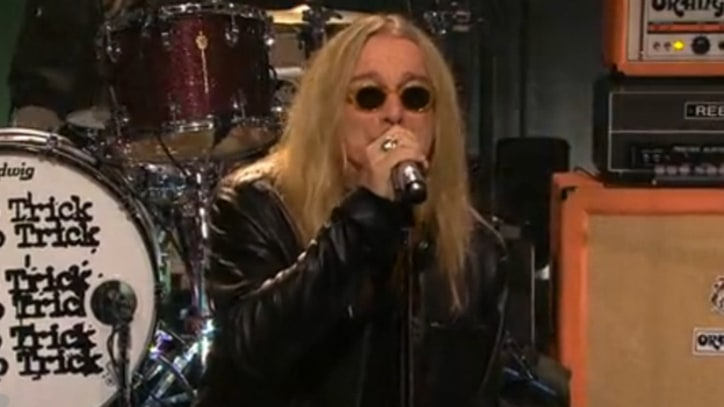 Cheap Trick Offer 'Surrender' on 'Leno'