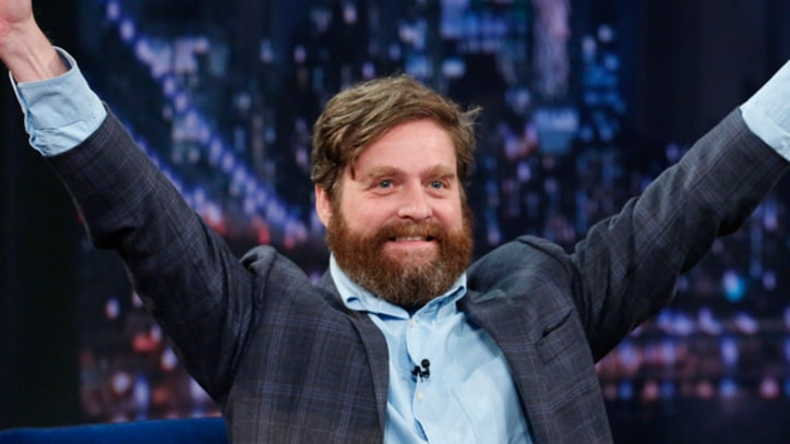 Zach Galifianakis on 'SNL' Cautions, 'Don't Get Your Hopes Up'