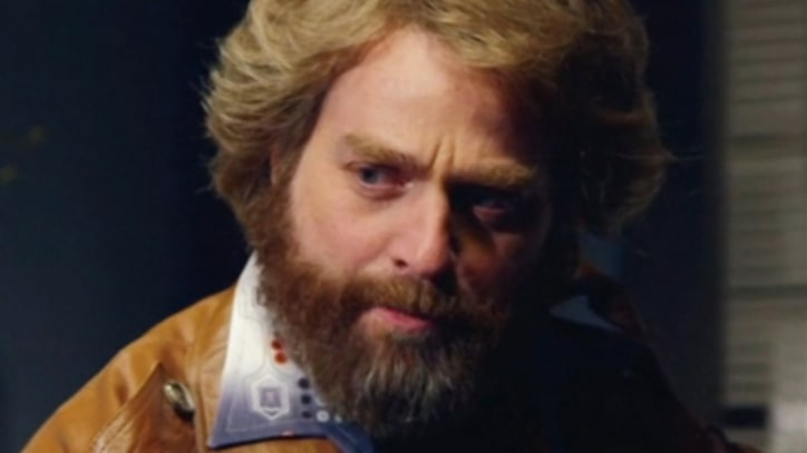 Zach Galifianakis Plays a Seventies Cop on Cut 'SNL' Skit