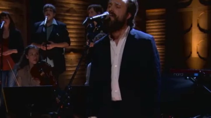 Iron and Wine Sow Unease with 'Low Light Buddy of Mine' on 'Conan'