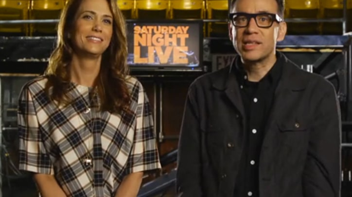 Kristen Wiig Gets Pumped Up for 'SNL' Return