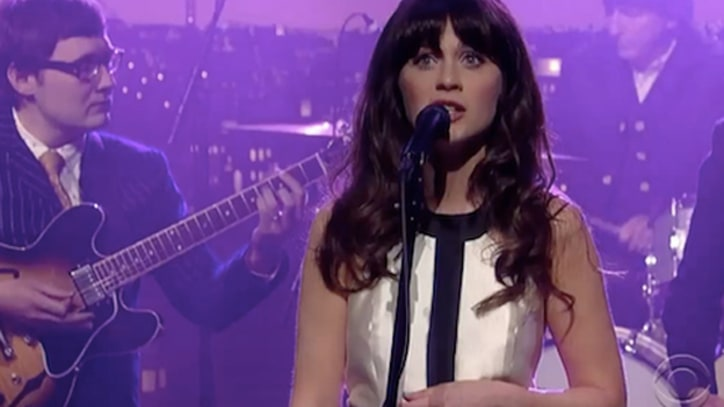She and Him Bring 'Never Wanted Your Love' to 'Letterman'