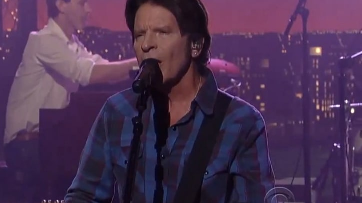 John Fogerty Leads Dawes Through 'Someday Never Comes' on 'Letterman'
