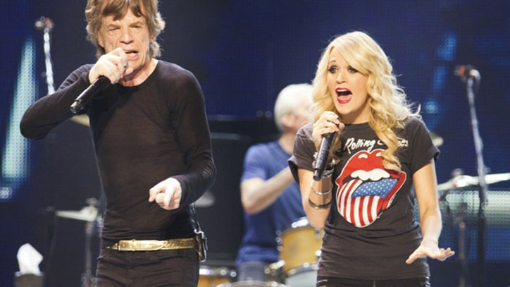 Rolling Stones, Carrie Underwood Rip Through 'It's Only Rock n' Roll'