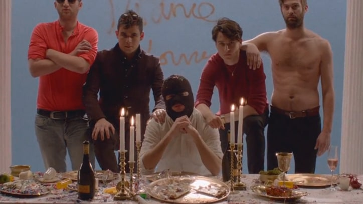 Vampire Weekend Throw Last Supper Party in 'Diane Young'