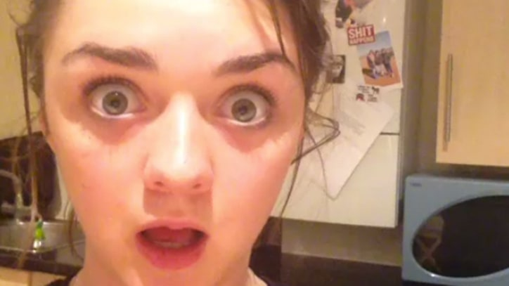 'Game of Thrones' Star Maisie Williams Reacts to 'Red Wedding'