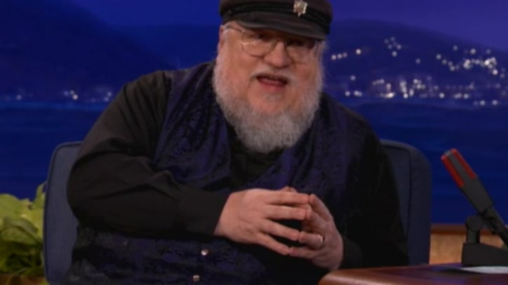 'Game of Thrones' Author Talks 'Red Wedding' on 'Conan'