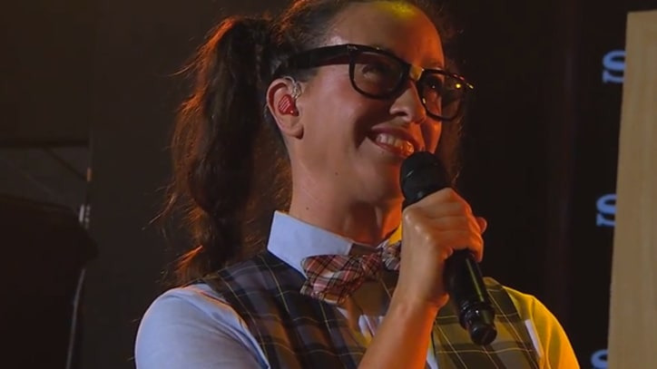 Lonely Island, Alanis Morissette Team Up on 'Kimmel'