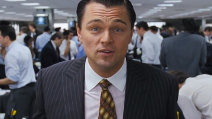 Leonardo DiCaprio Flaunts Wealth in 'Wolf of Wall Street' Trailer