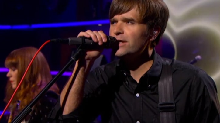The Postal Service Make TV Debut on 'Colbert'