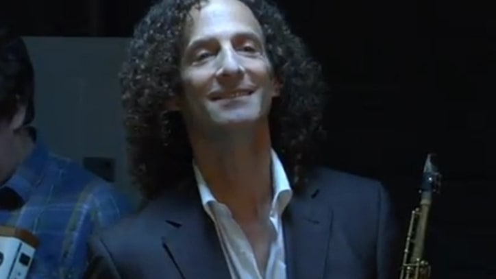Dave Mustaine and Kenny G Spoof Men's Wearhouse Ads