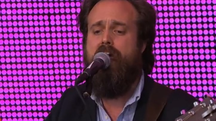 Iron and Wine Bring Strings and Horns to 'Kimmel'