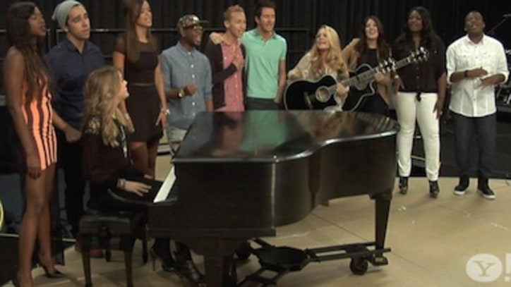 VIDEO: On the Scene at the 2013 Idol Tour Rehearsals