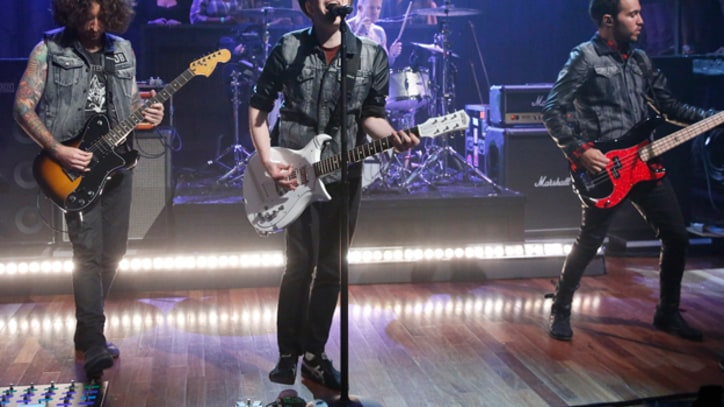 Fall Out Boy Rise Like 'Phoenix' on 'Fallon'