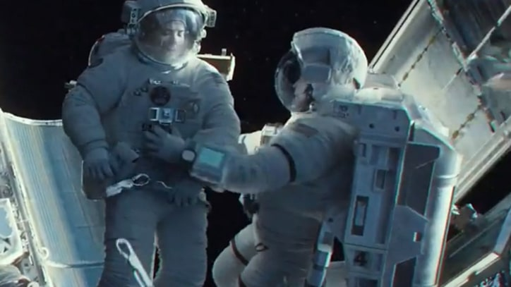 Sandra Bullock Is Lost in Space in Frightening New Trailer for 'Gravity'