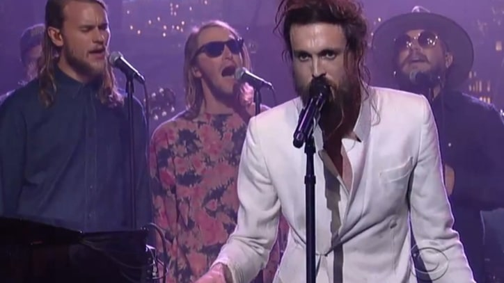 Edward Sharpe and the Magnetic Zeros Soar on 'Letterman'