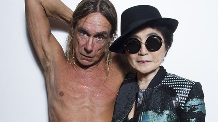 Yoko Ono and Iggy Pop Team on 'Waiting for the D Train' Live