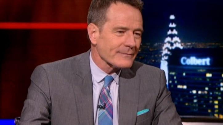 Bryan Cranston Drops 'Breaking Bad' Hints on 'Colbert'