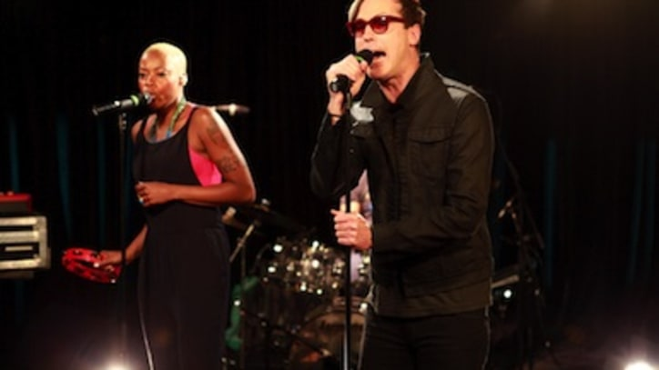 Watch: Fitz & The Tantrums' Dreamy Yahoo! Music Performance