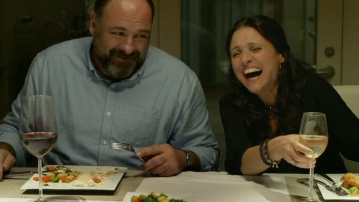James Gandolfini Shows Sensitive Side in 'Enough Said' Trailer
