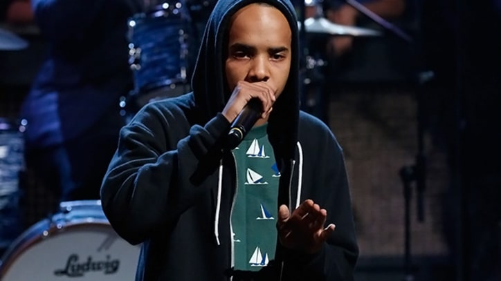 Earl Sweatshirt Paints it 'Burgundy' on 'Fallon'