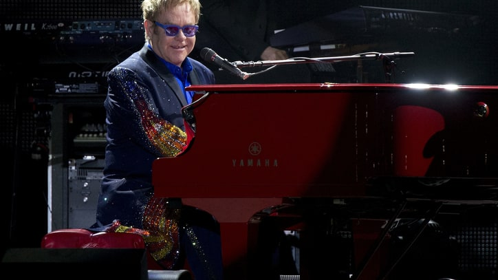 Elton John: Jesus Would Approve of Same-Sex Marriage