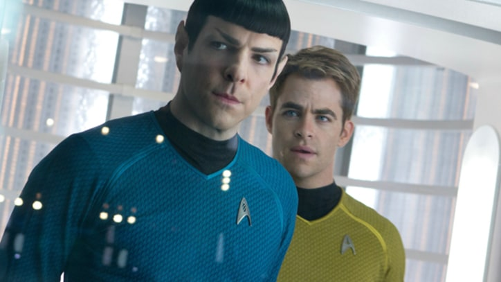 Zachary Quinto Goes Behind the Scenes of 'Star Trek Into Darkness'